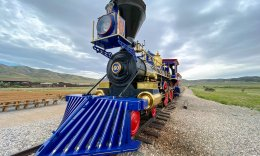 Golden Spike National Monument Train