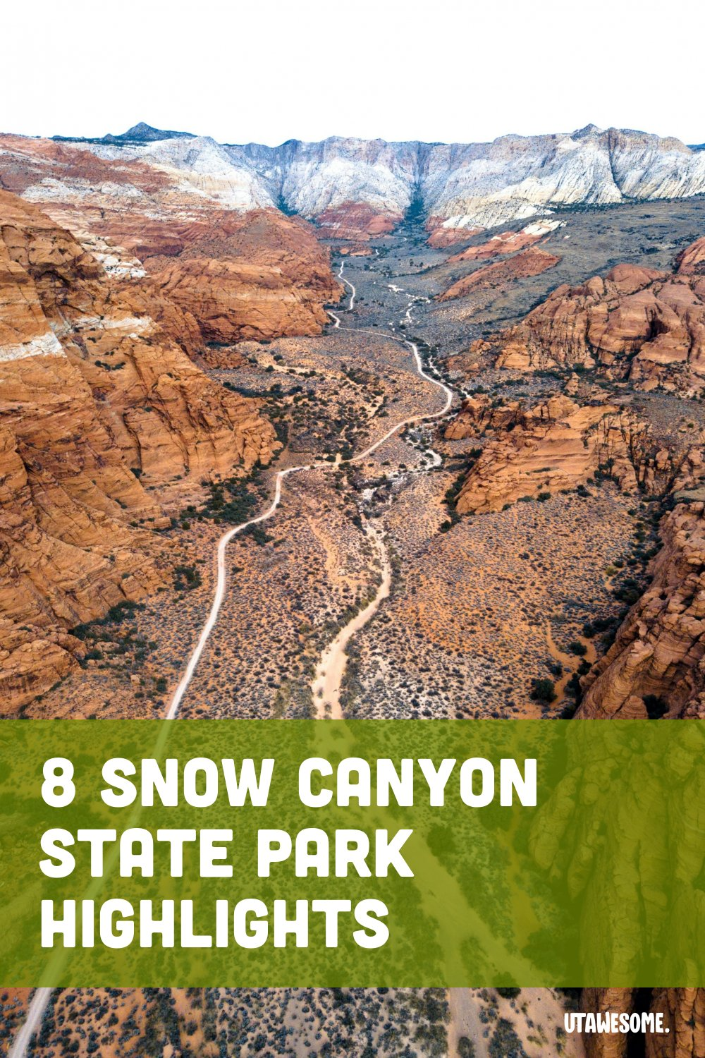 Snow Canyon Aerial View